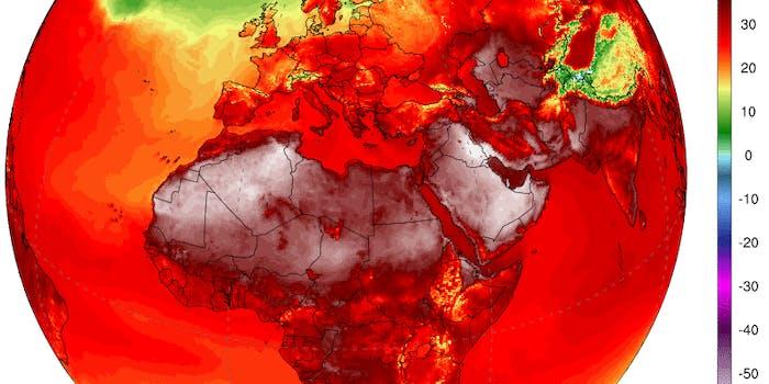 Climate Reanalyzer Africa Europe