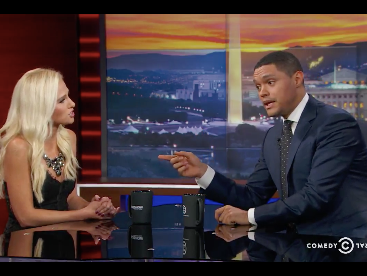 Trevor Noah Grills Tomi Lahren for Her Black Lives Matter Statements