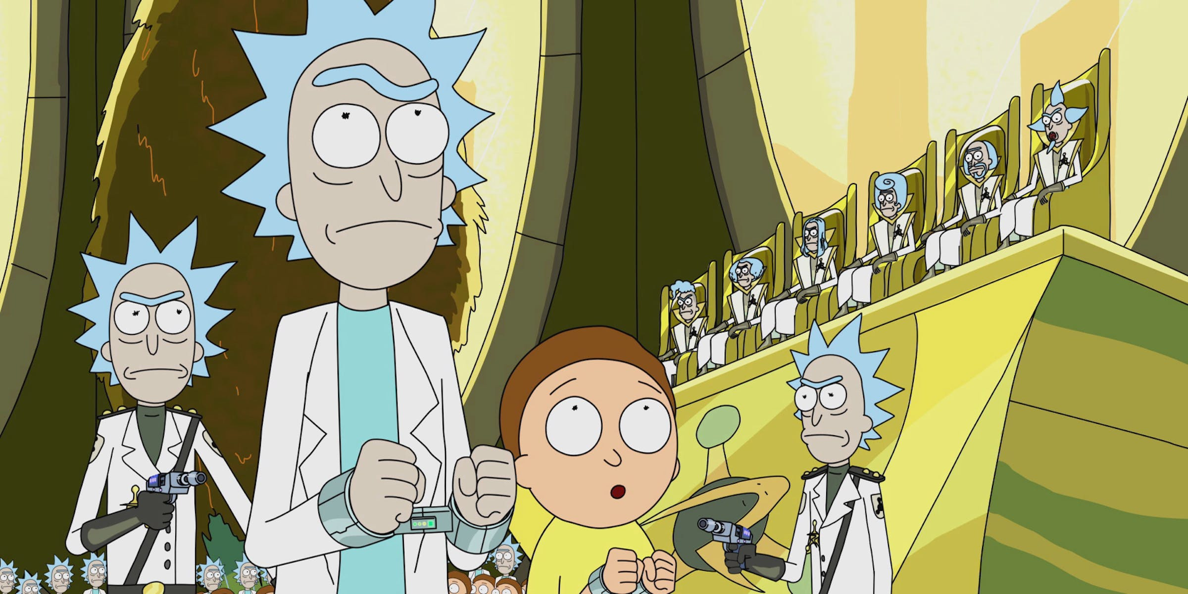 'Rick and Morty' Furniture Universe