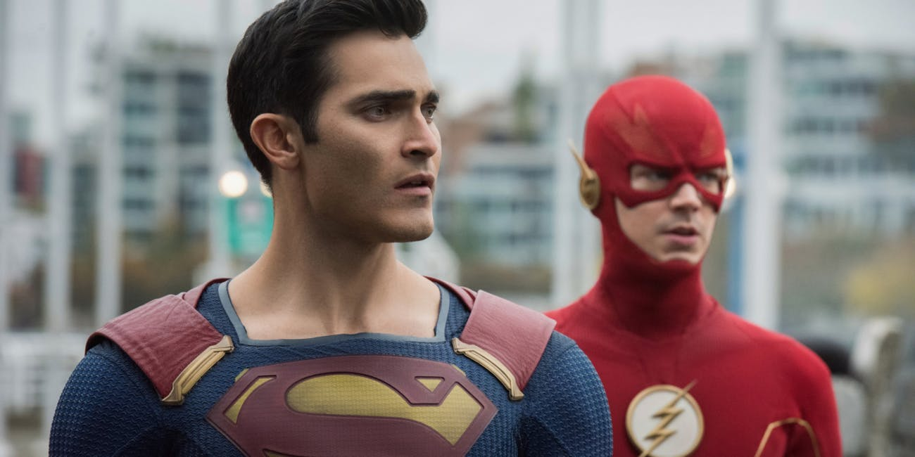 The CW Supergirl Superman The Flash