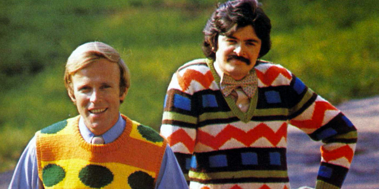 Sweater man should ditch the sweater.