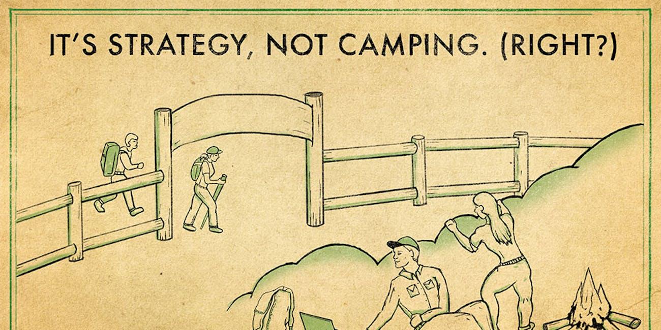 Fortnite camping