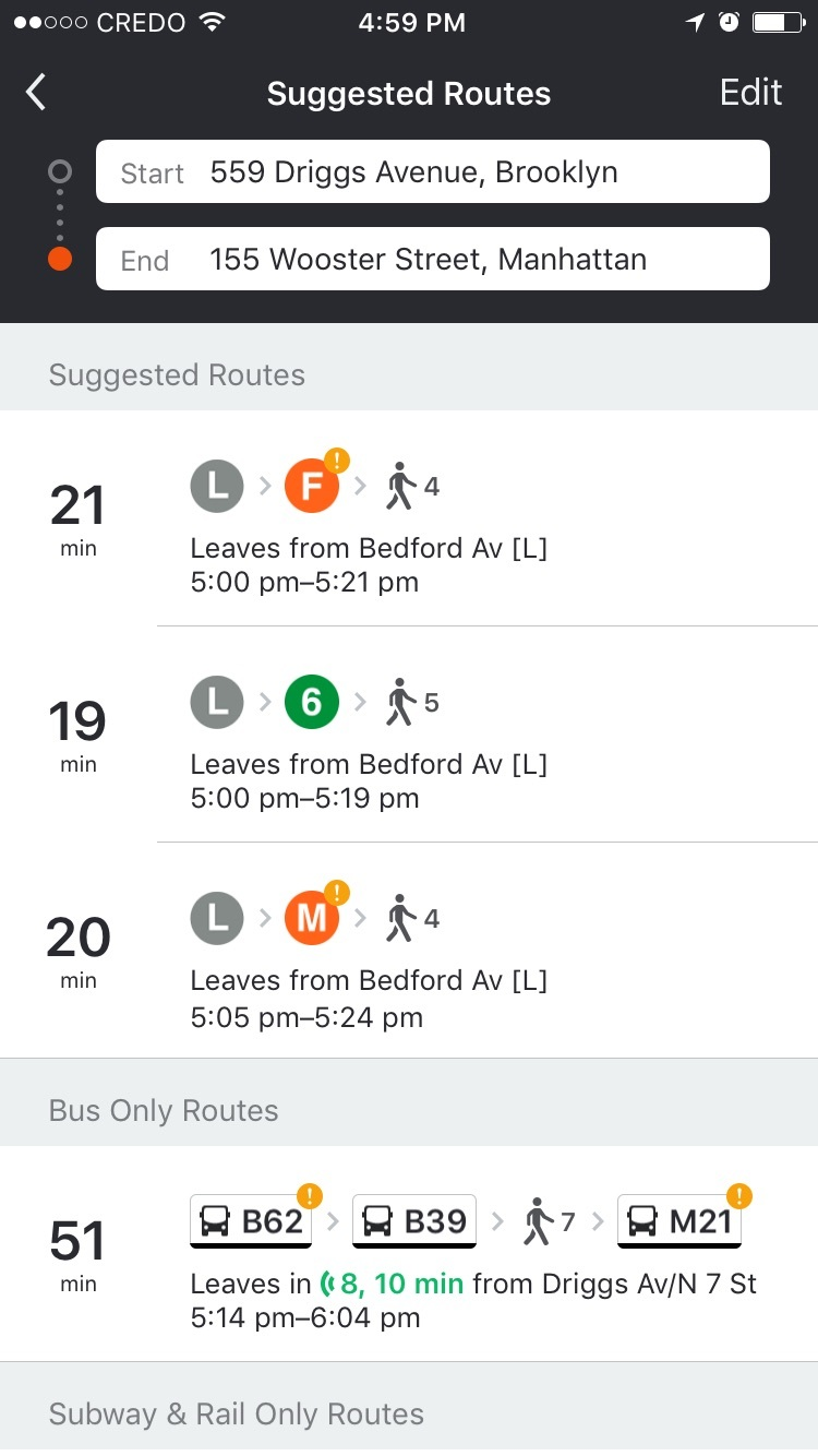 Moovit route screenshot