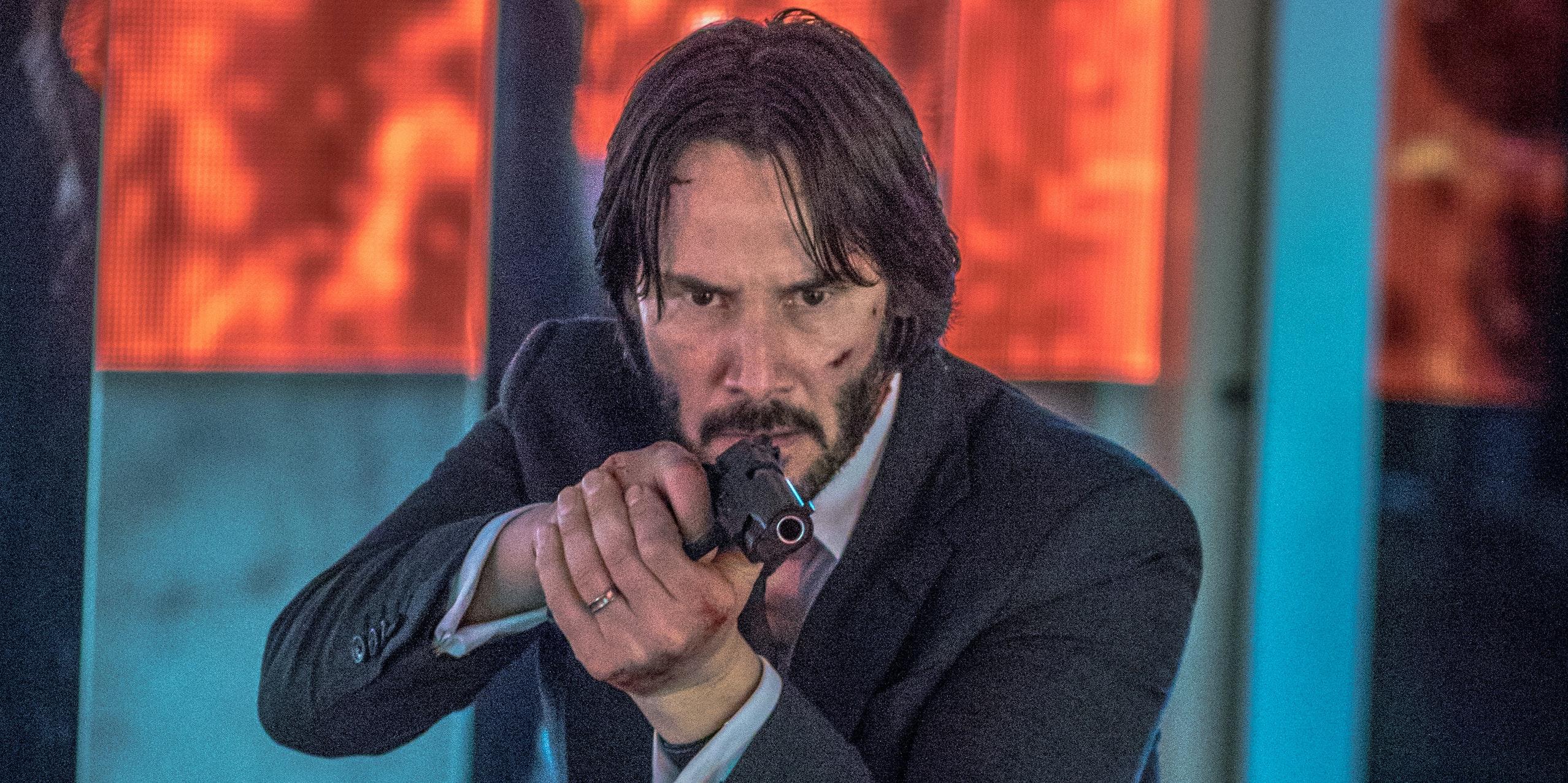 John Wick: Photos Show Keanu Reeves Filming 'John Wick 2' In Rome