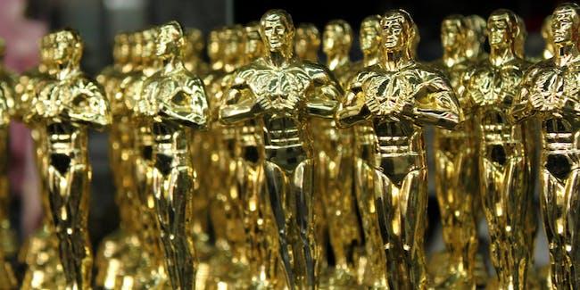 Academy Awards oscar statuettes