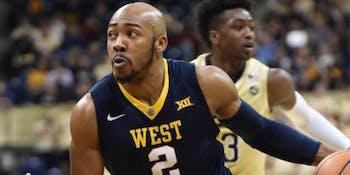 NCAA basketball West Virginia