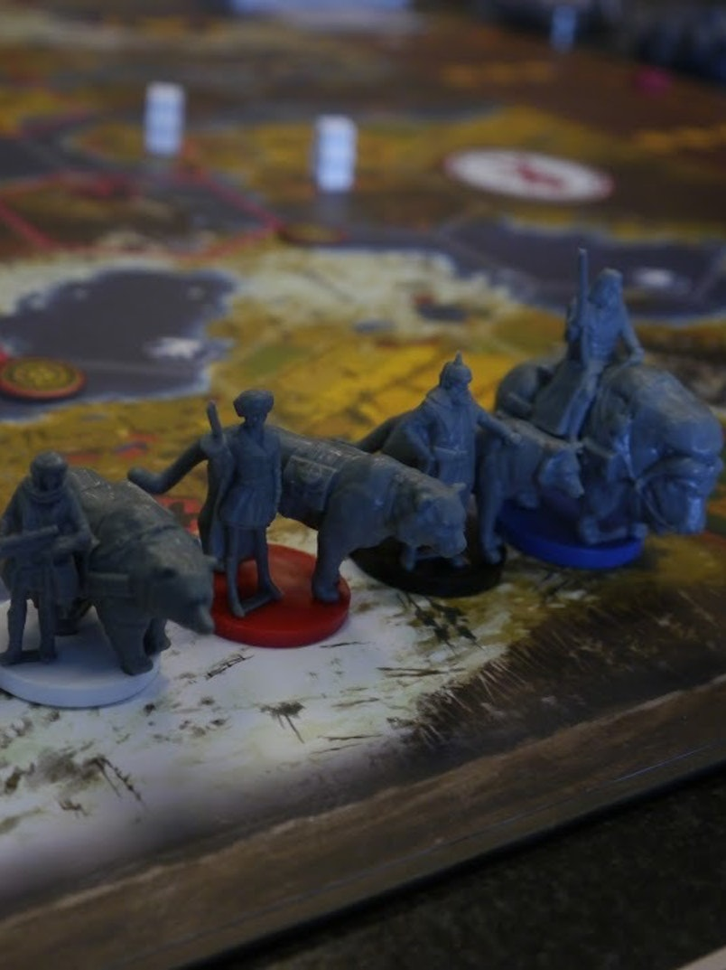 Scythe is a very good board game which you should play