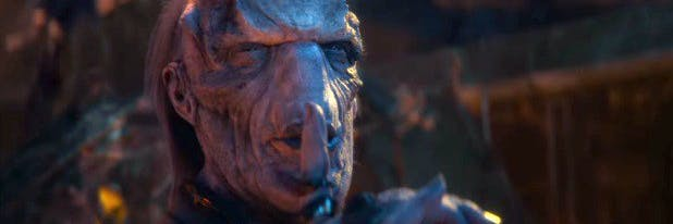 Image result for avengers infinity war ebony maw