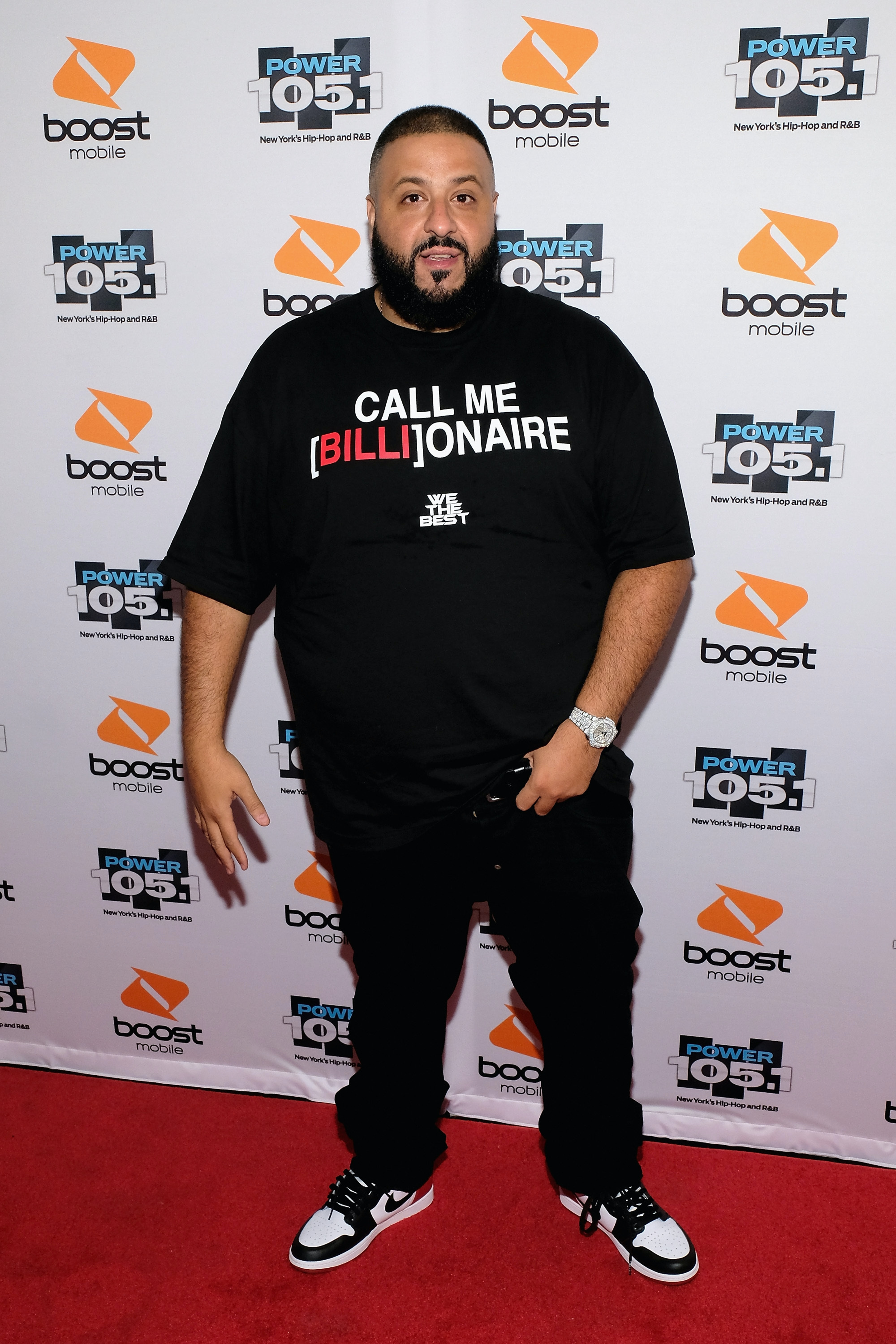DJ Khaled: Definitely sexy.