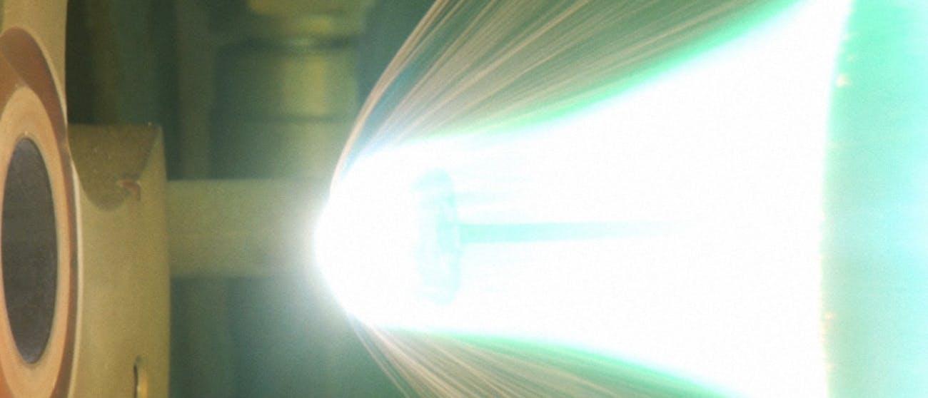 artifical meteor shower