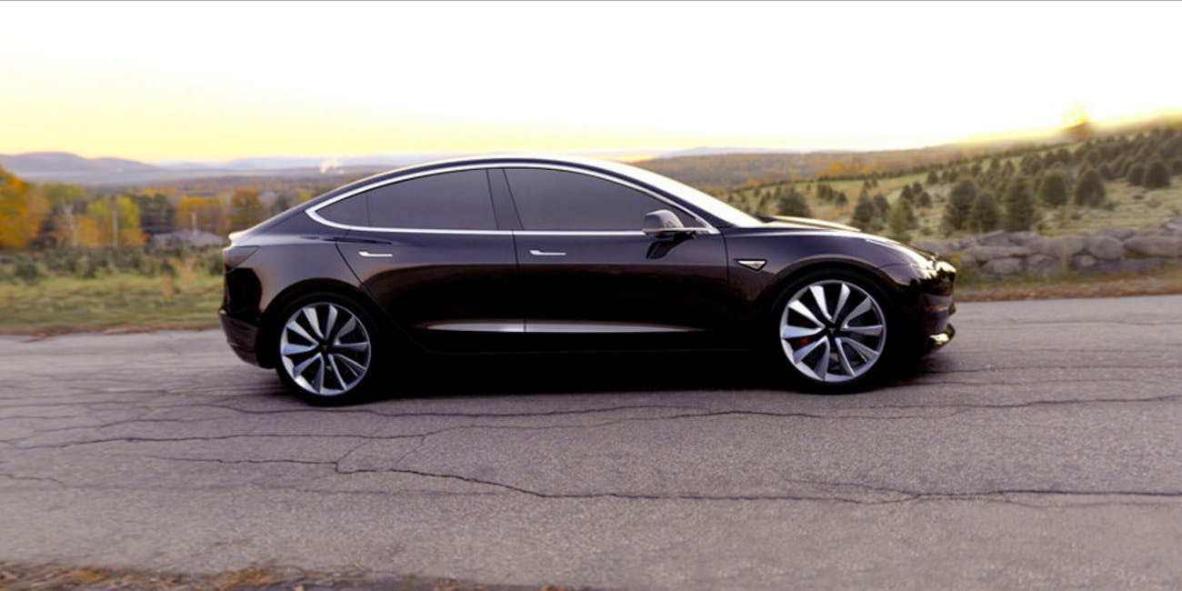 Elon Musk S Tesla Model 3 Is Starting Production February