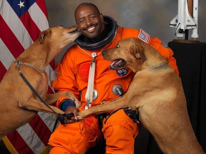 I Need My Space Leland Melvin NASA Astronaut