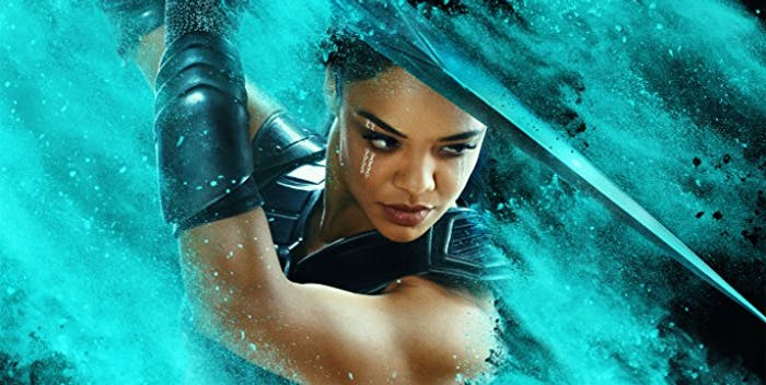 "Tessa Thompson in ""Thor: Ragnarok."""