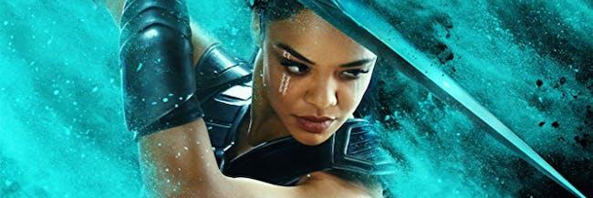 "Tessa Thompson in ""Thor: Ragnarok."""