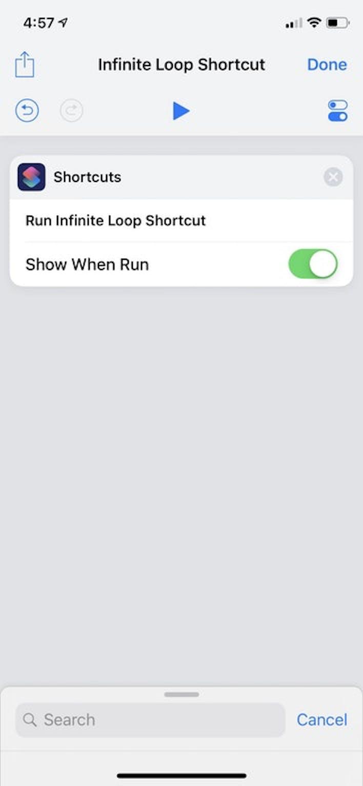 iOS 12 siri bug