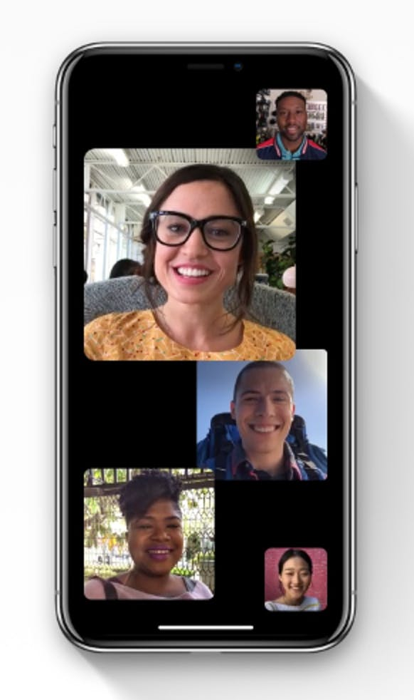 ios 12 group facetime