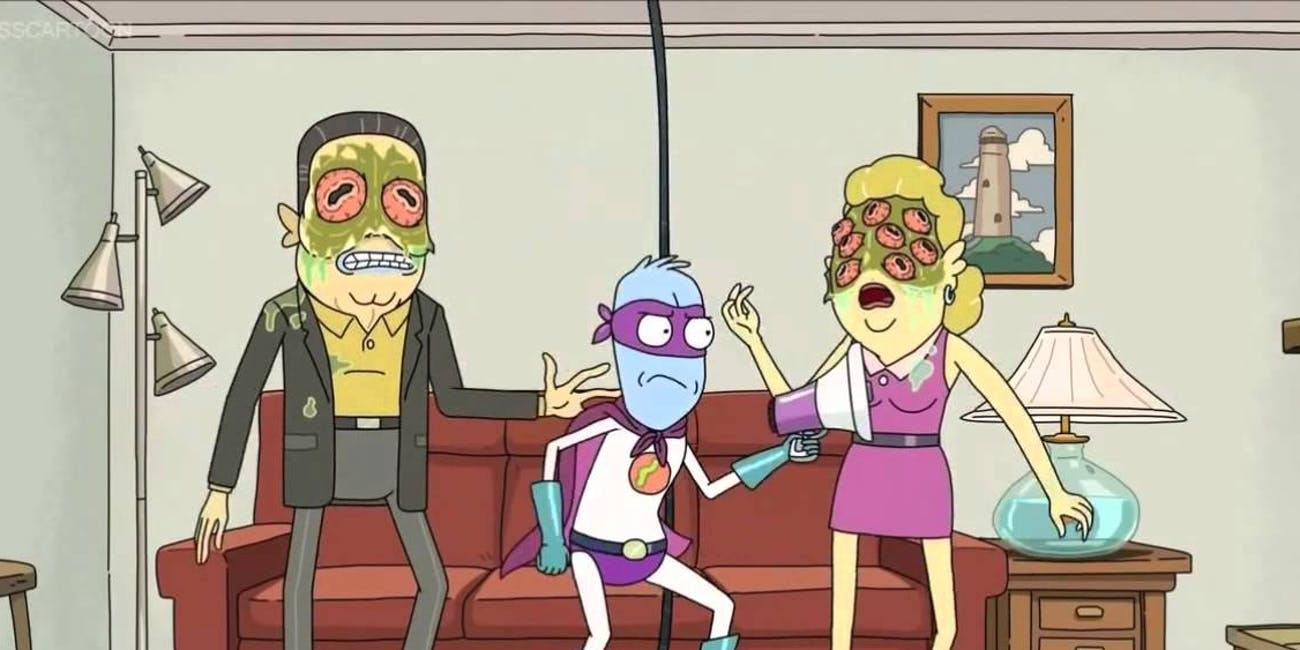 Rick and Morty Eyehole Man