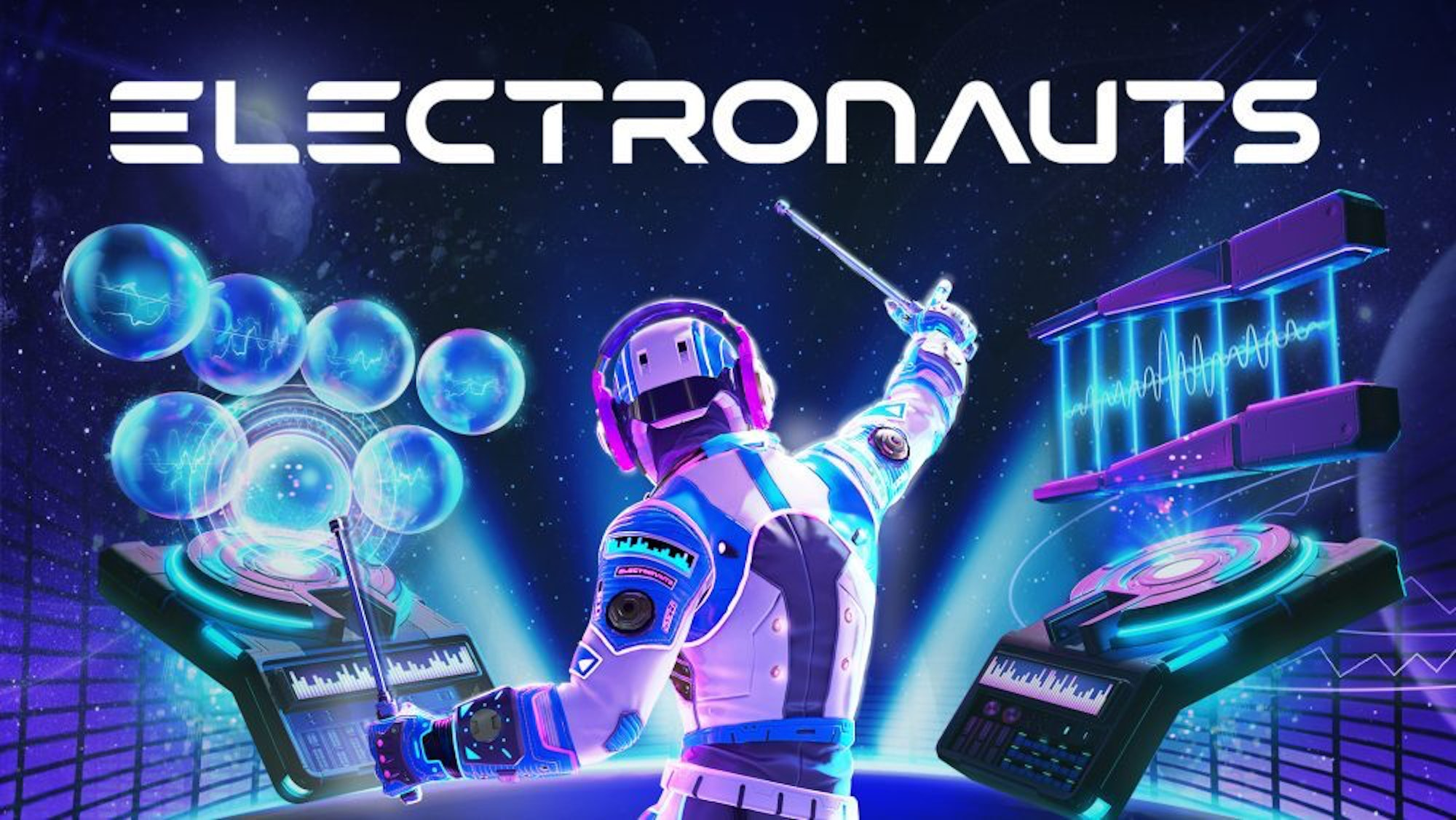 Watch Me Become an Awesome DJ in VR With Zero Experience in 'Electronauts'