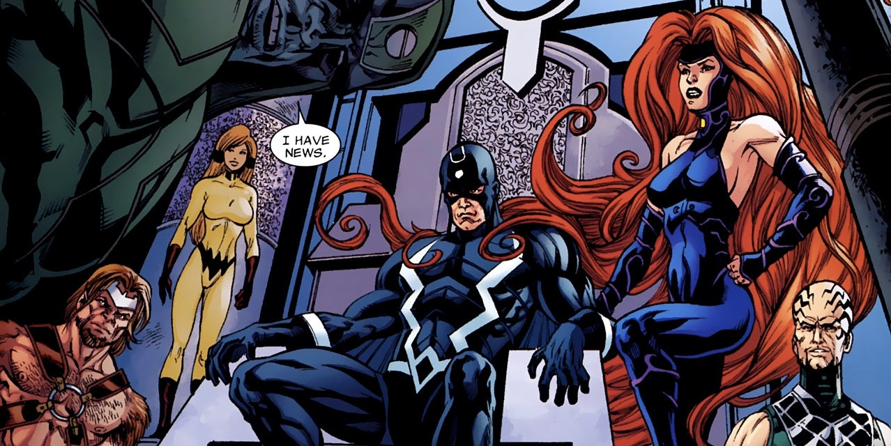 Marvel is making 'Inhumans' into a TV show.