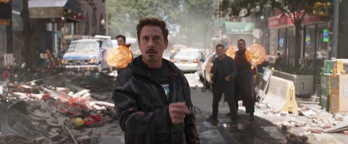 We'll see a Doctor Strange, Wong, Bruce Banner, Tony Stark team-up in New York City.