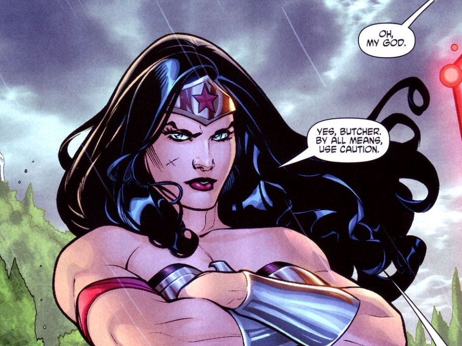 Gail Simone Doesn't Have Time for 'Wonder Woman' Queer Fear