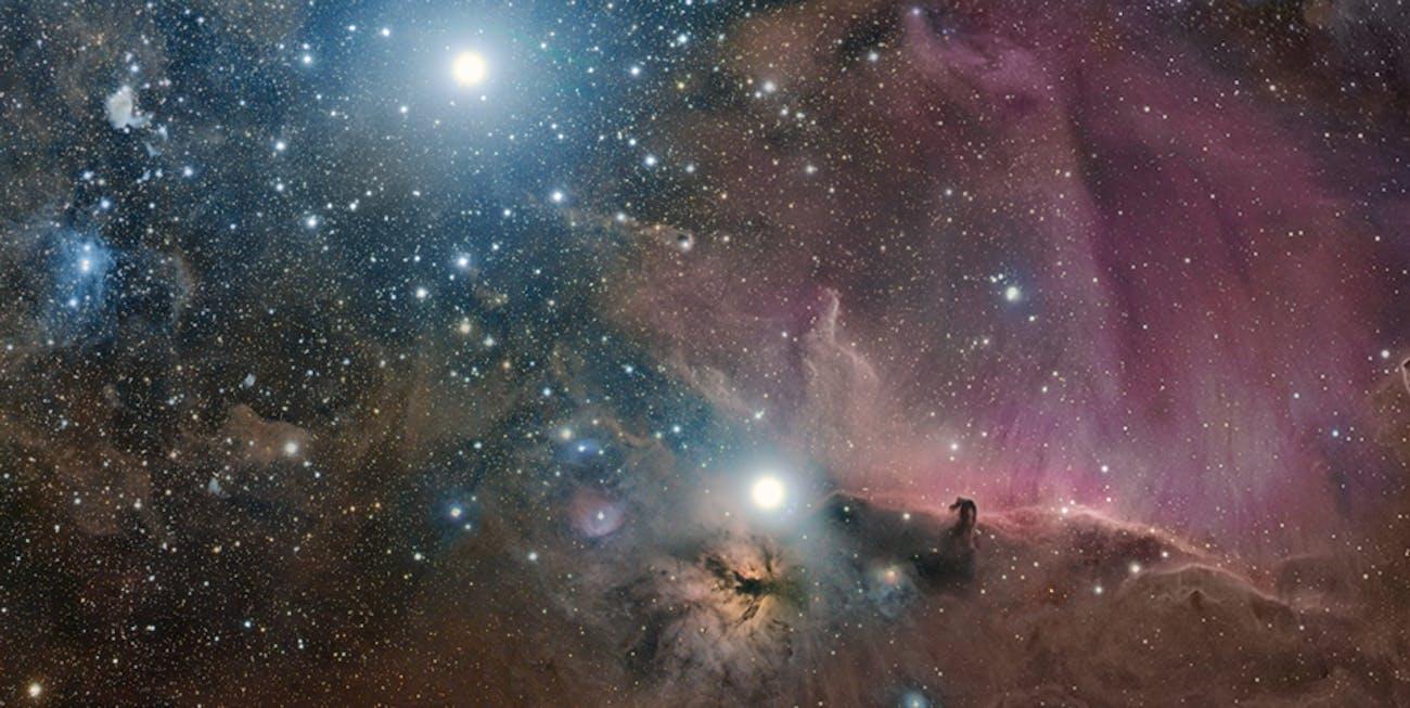 NASA orion stars