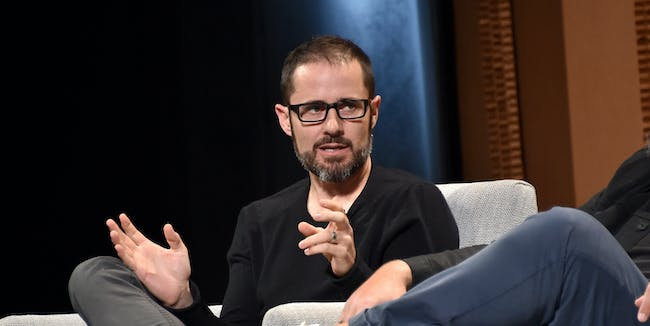 SAN FRANCISCO, CA - OCTOBER 07:  Medium CEO Evan Williams speaks onstage during 'An Uneasy Marriage?—Tech, Media, and Money' at the Vanity Fair New Establishment Summit at Yerba Buena Center for the Arts on October 7, 2015 in San Francisco, California.  (Photo by Mike Windle/Getty Images for Vanity Fair)