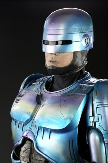 RoboCop's costume from 'RoboCop 2'.