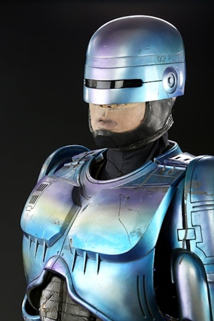 RoboCop's costume from 'RoboCop 2'.
