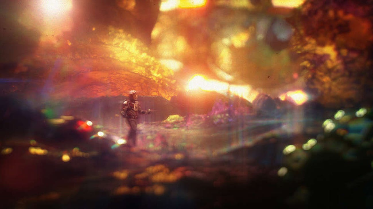 The Quantum Realm in 'Ant-Man and the Wasp'.