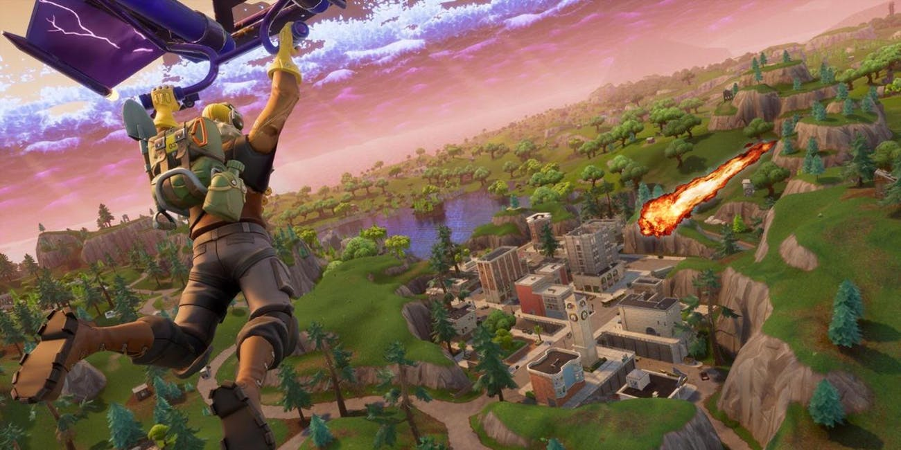 Annihilation is probably still imminent for Tilted Towers in 'Fortnite'.