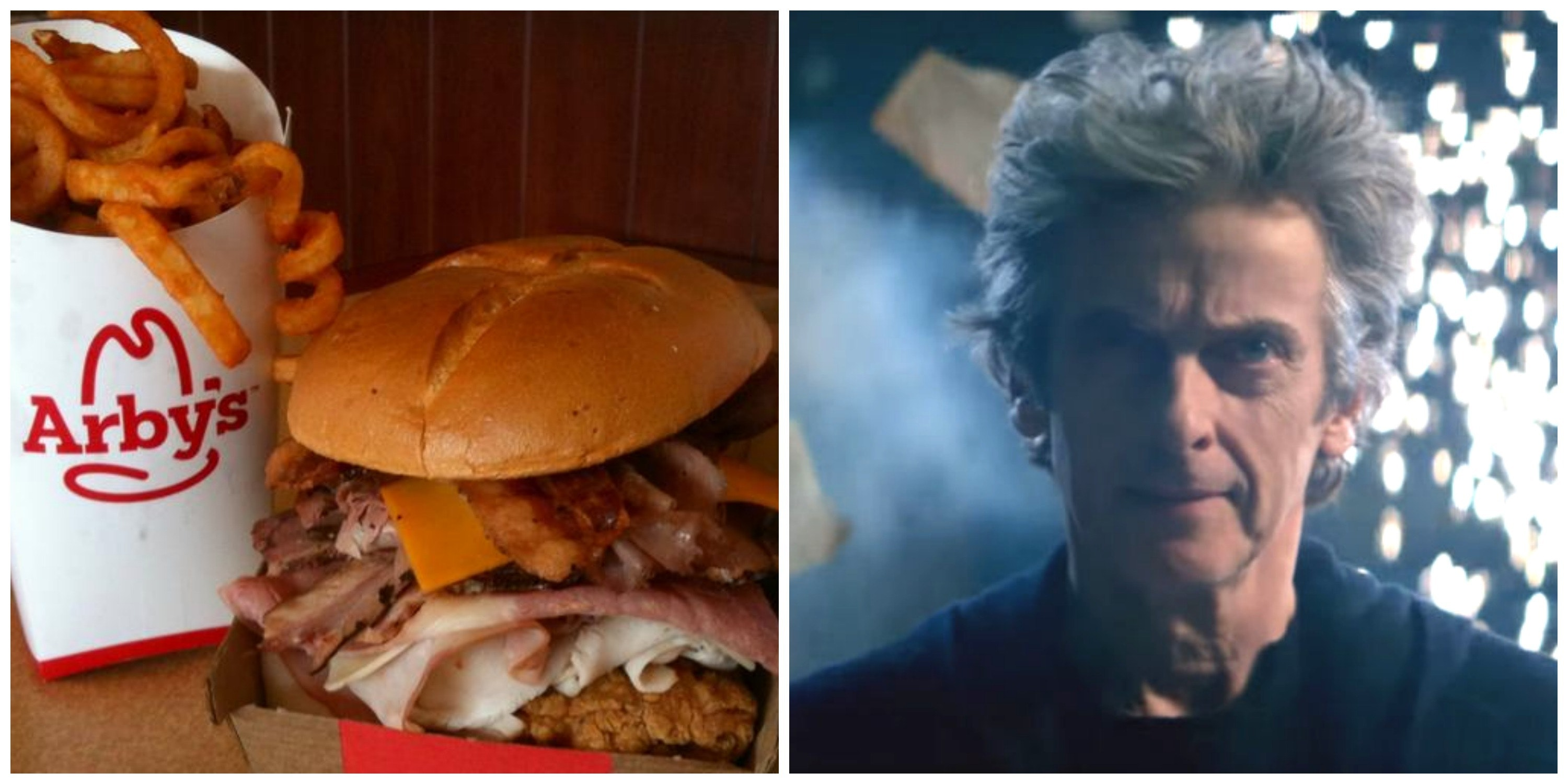 Apparently Arby's is Sad Capaldi is Leaving 'Doctor Who'