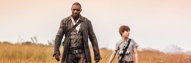 Idris Elba as Gunslinger Roland Deschain and Jake Chambers.