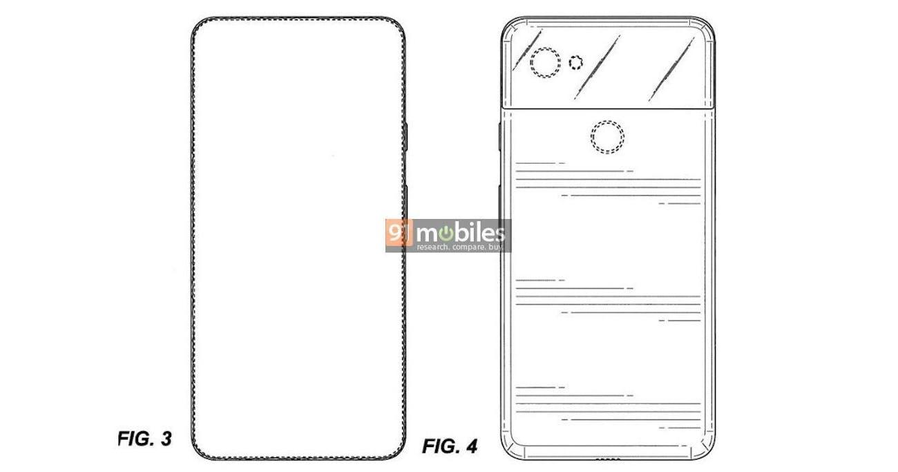 pixel 4 alleged patent blueprints