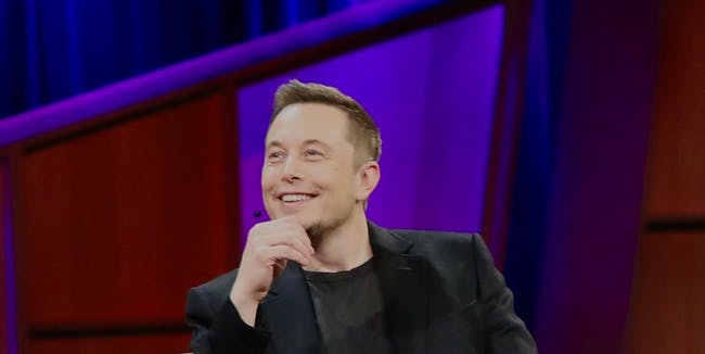 Elon Musk Dreaming of a Brighter Future