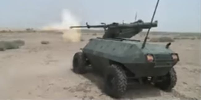 The Iraqi Army Just Deployed a Robotic Tank to Fight ISIS