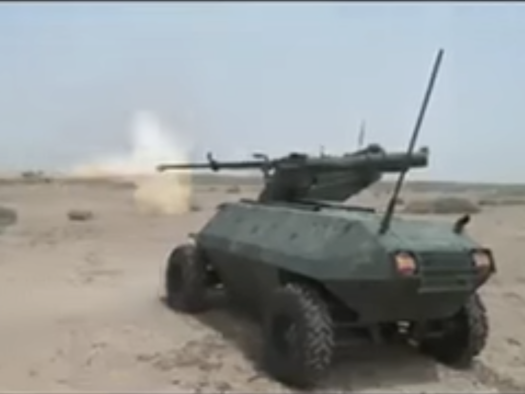 The Iraqi Army Just Deployed a Robot Tank to Fight ISIS