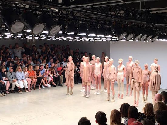 Kanye West Debuts a New Song at New York Fashion Week Show