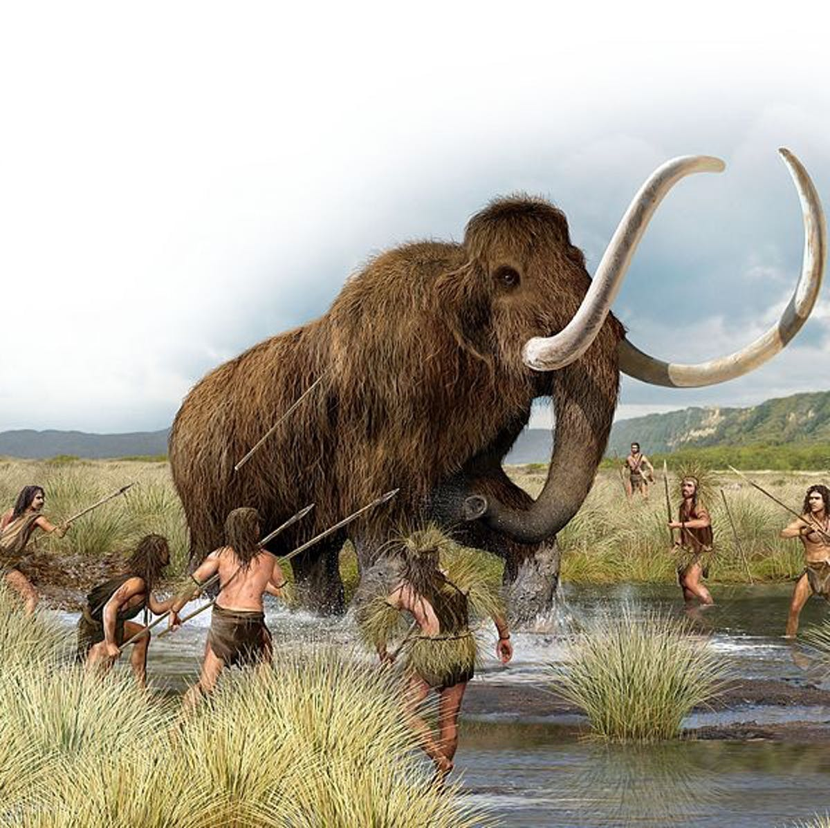 How the extinction of ice age mammals may have forced us to invent civilization