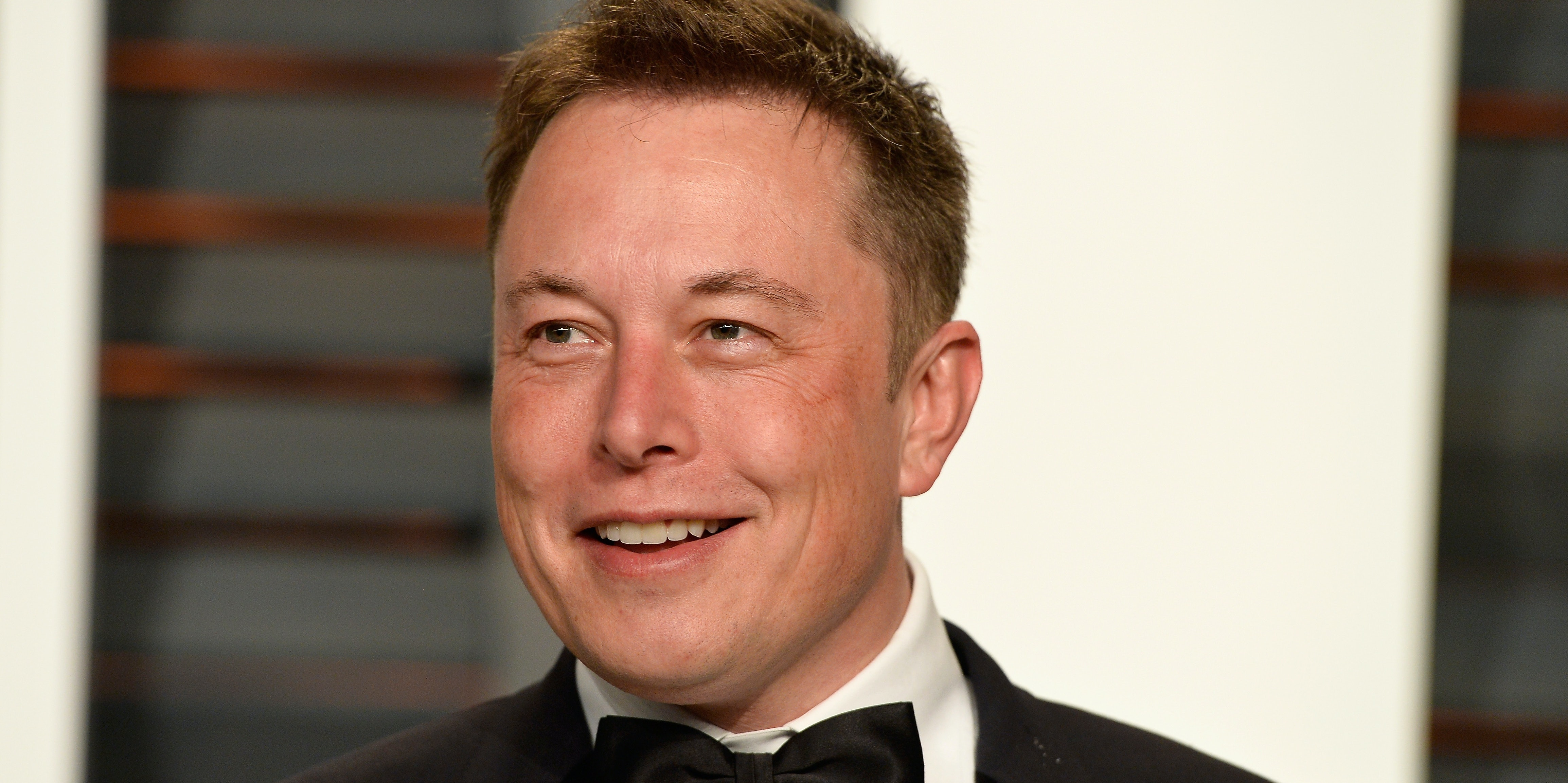 CEO of Tesla and Space X Elon Musk attends the 2015 Vanity Fair Oscar Party hosted by Graydon Carter at Wallis Annenberg Center for the Performing Arts on February 22, 2015 in Beverly Hills, California.