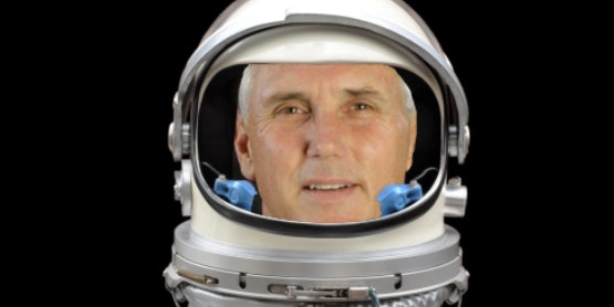 Mike Pence Basically Says Donald Trump Will Make Space Great Again