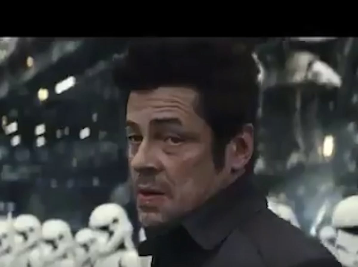 Last Jedi' Spoiler: Benicio del Toro Works with the First