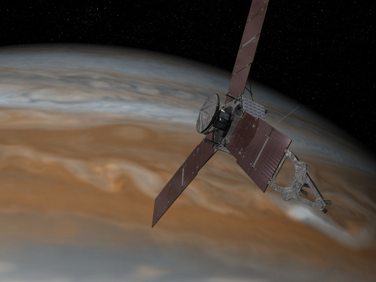 Today We Flew Closer to Jupiter Than Ever Before