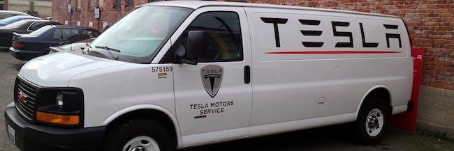 Tesla Seattle - Service Van