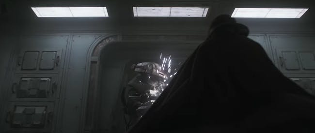 Is this caped-person actually Lando?