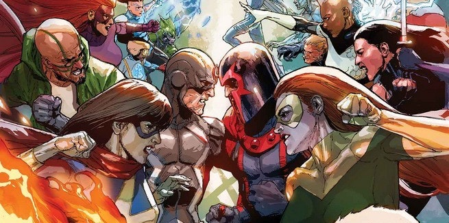 Marvel's December Event Comic Series Inhumans vs. X-Men