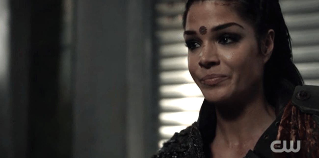 Marie Avgeropoulos as Octavia Blake in 'The 100'