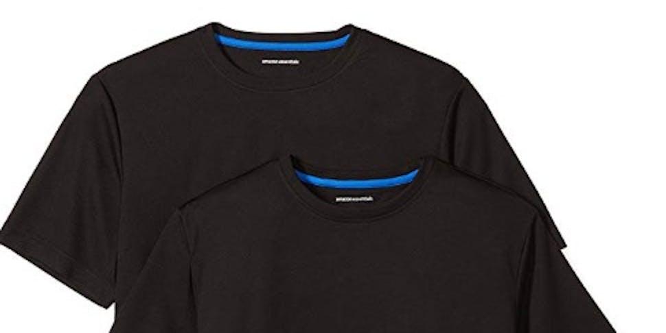 Amazon Essentials Men's 2-Pack Performance Short-Sleeve T-Shirts