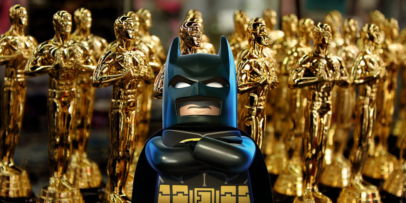 Batman is not happy about this Oscar snub.