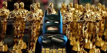 Batman is not happy about this Oscar snub.